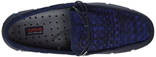 Swims Lace Loafer Woven - Mocasines Hombre Azul - Blau (Navy Fade 323)