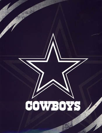 - Licensed NFL Dallas Cowboys Lightning Luxury Plush Queen Blanket 76x94 by Northwest