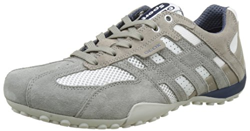 Geox Serpent Uomo Sneaker K U4207k01422c6105 De Herren Grau (glace / Whitec0463)