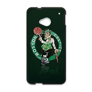 XXXD boston celtics logo Hot sale Phone Case for HTC ONE M7 Black