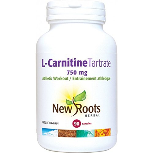 New Roots L-Carnitine Tartrate, 90 Capsules