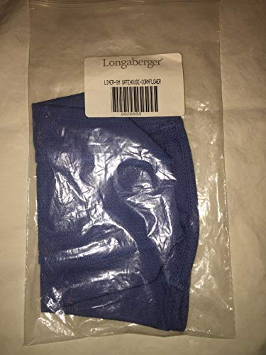 Longaberger Liner for Small Gatehouse in Cornflower Fabric