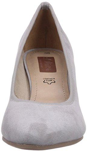 s.Oliver 22403, Chaussures à talons - Avant du pieds couvert femme Gris - Grau (Quartz Suede 229)