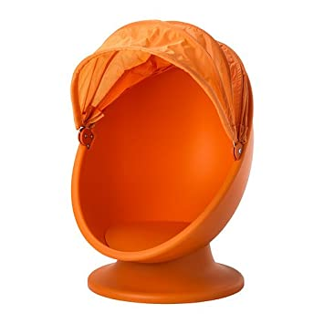 Ikea Swivel Chair, Orange, Light Orange 2026.20148.634