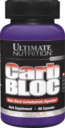 Ultimate Nutrition Carb Bloc, 90Capsules, 100g par Ultimate Nutrition