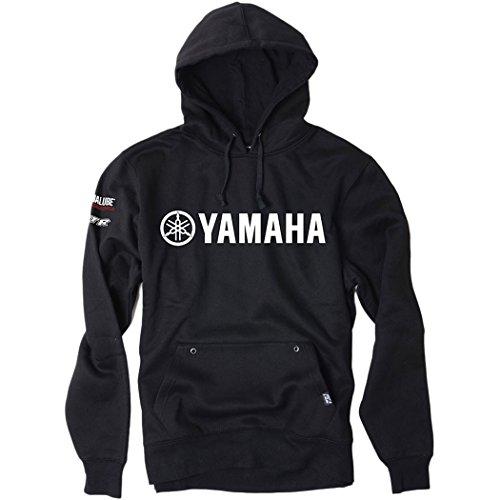 Factory Effex - Factory Effex Hoody - Team Yamaha - Black - Medium ()