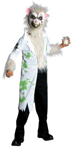 Child's Horrorland Lab Rat Costume, Medium
