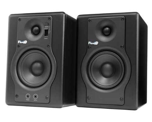 Fluid Audio F4 Advanced Powered Studio Monitors