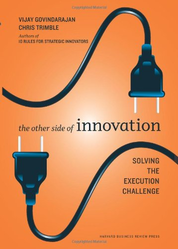 amazon com the other side of innovation solving the execution