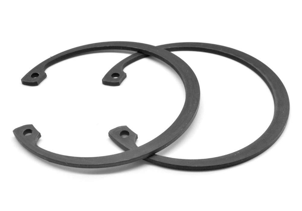 2.125 Internal Retaining Ring Medium Carbon Steel Black Phosphate Pk 200