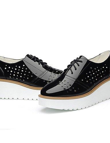 us8 Noir Chaussures Compensé Soirée Bureau Cn39 Creepers Talon Hug Habillé amp; Sport Evénement White Uk6 Blanc Travail Njx Décontracté Femme Eu39 P1TWw