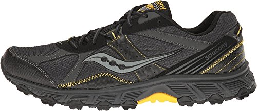 Saucony Grid Black TR Raptor Yellow Grey Mens 67pq61wf