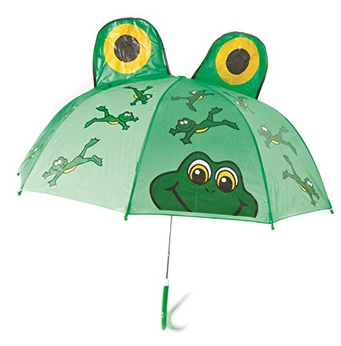 - Kids Umbrella - Childrens 18 Inch Rainy Day Umbrella - Frog
