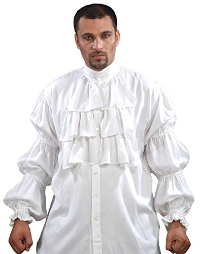 Pirate Ruffled Seinfeld Puffy Shirt
