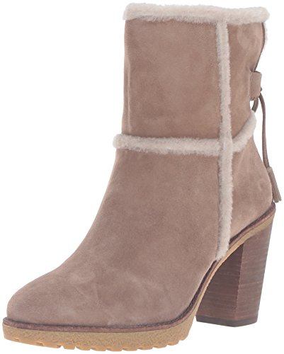 Frye Womens Jen Shearling Corto Invernale Boot Taupe