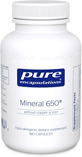 Pure Encapsulations Hypoallergenic Combination Chelated Minerals product image