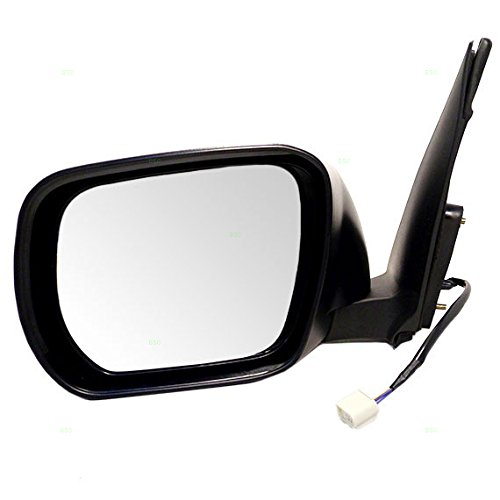 - Drivers Power Side View Mirror Smooth Replacement for Suzuki SUV 84702-65J10-ZJ3