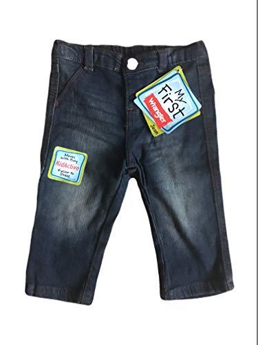 Wrangler Infant Baby My First Blue Jeans (Medium Blue, 6/9 -