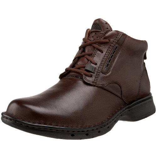 Clarks Unstructured Mens Un.furl Boot Casual Marrone