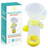 Spacer for Children– Includes Mask I Fits All Sizes I BPA-Free, Non-Toxic I Easy to Clean I Compact and Lightweight I Kids Medium