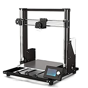 Z.H.QQHZ 3D Printer Upgraded A8plus Integrated Desktop FDM Metal DIY 3D Printer Kits with Large 12864 LCD Screen Large Bulid Volume 20