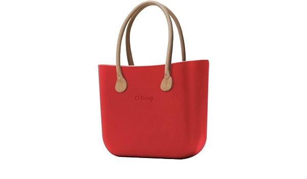 O BAG - Bolso al hombro de goma para mujer negro negro: Amazon.es: Zapatos y complementos