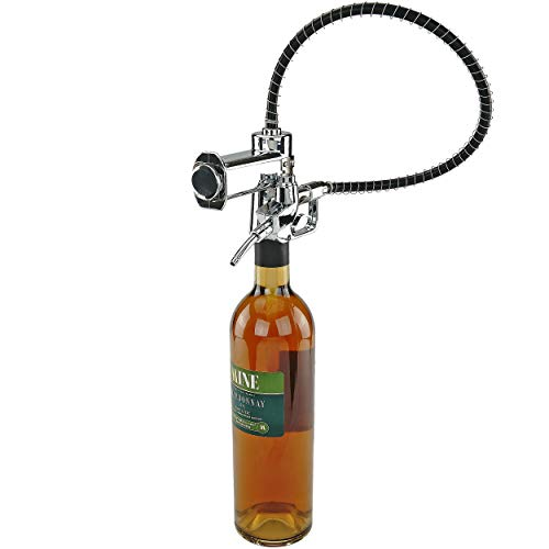 Fairly Odd Novelties FON-10209 Gas/Fuel Pump Bottle Dispenser Funny Party Liquor or Wine Drink Pouring Gag Gift, One Size, Clear