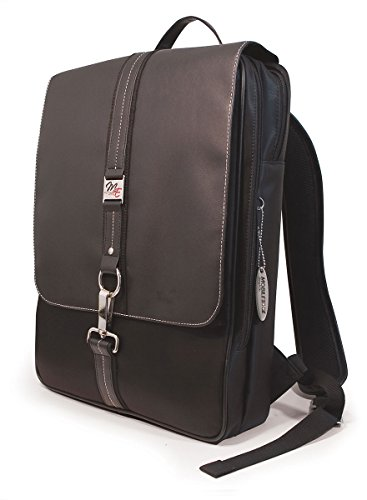 Mobile Edge Paris Slimline Laptop Backpack, Computer Book Bag in Black
