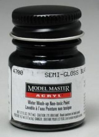 tors Acrylic Plastic Model Paint (Model Master Paint Brush)