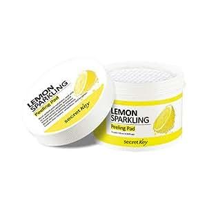 Secret key Lemon sparkling peeling pad 70pads, 130ml