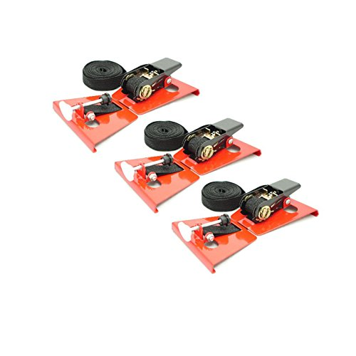(Ratcheting Belt Clamps with Spacer 18ft Multi Pack with FAST & FREE PRIORITY SHIPPING (3) )
