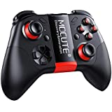 Bluetooth Game Controller, Vanpower Wireless Joystick Controller Remote VR Gamepad with Phone Holder, Compatible with Android Smartphone Tablet PC, 40H Gaming Time