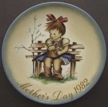 Schmid Mothers Day Plate - 8