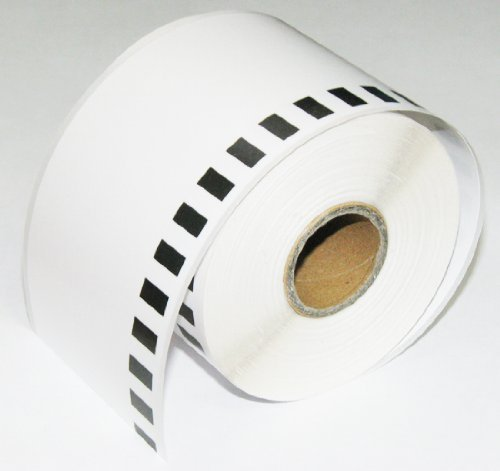 12PK Brother Compatible DK-2205 Continuous Paper Labels (Reusable Cartridge Sold Separately) for Brother QL-500 QL-550 QL-570 QL-580N QL-650TD QL-700 QL-710W QL-720NW QL-1050 QL-1050N QL-1060N QL Printer