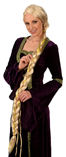 Blonde Princess Rapunzel Wig; Adult/Teen Costume Wig