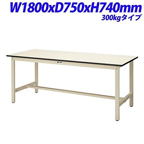 YamaTec 作業テーブル 耐荷重300kgタイプ W1800×D750×H740mm SWP-1875-II B076D5LJML