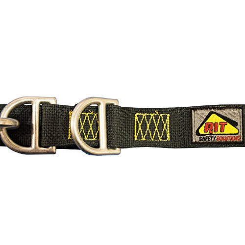 (RIT Safety Solutions Kevlar Firefighter Escape Belt 2 Fixed D-Rings)