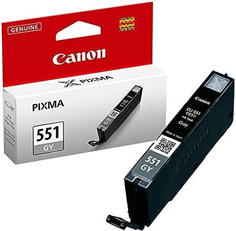 Canon CLI-551 GY Cartucho de tinta original Gris para Impresora de ...