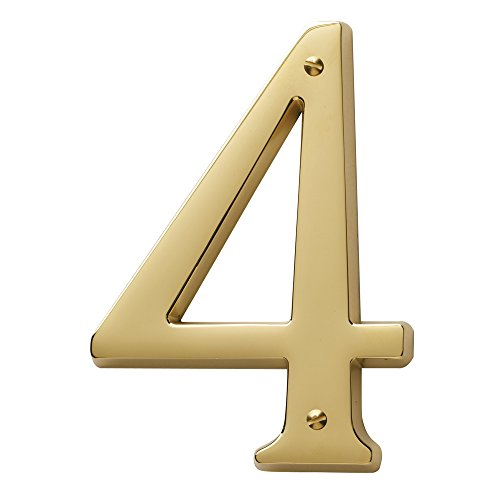 Baldwin Brass House Numbers - 1