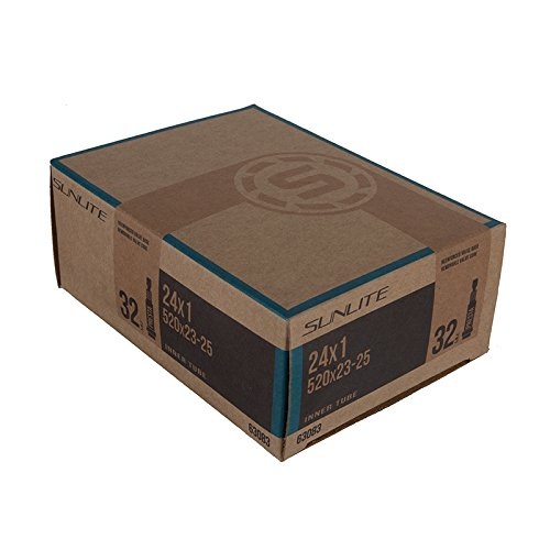 Sunlite Standard Presta Valve Tubes, 24 x 1