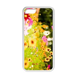Personalized Creative Cell Phone Case For iPhone 5C,glam colorful flowers