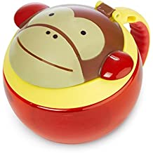 Skip Hop Baby Zoo Little Kid/Toddler Snack Cup, Marshall Monkey, Multi
