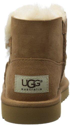 Bambino Castagno Mini Bailey 11 Stivali Australia Ugg Pulsante Junior RzqxOa5w