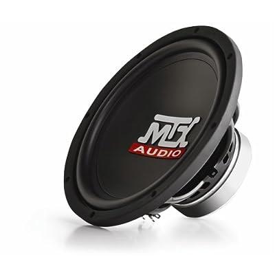 MTX TN10-04 10-Inch Single 4-OHM Subwoofer 150-Watt RMS: Car Electronics