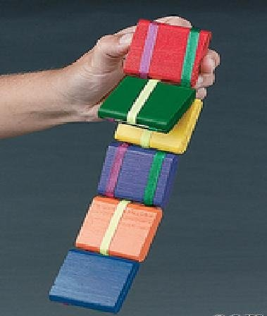 Rhode Island Novelty Jacob's Ladder-old Fashion Colorful Wooden Toy -2 Pack