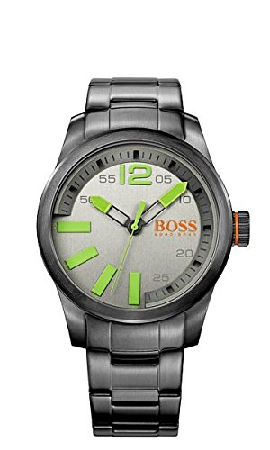 Hugo Boss Grey Dial Stainless Steel Quartz Men's Watch 1513050