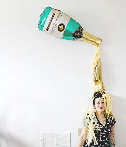 Champagne Bottle Balloon Kit,2pcs 40