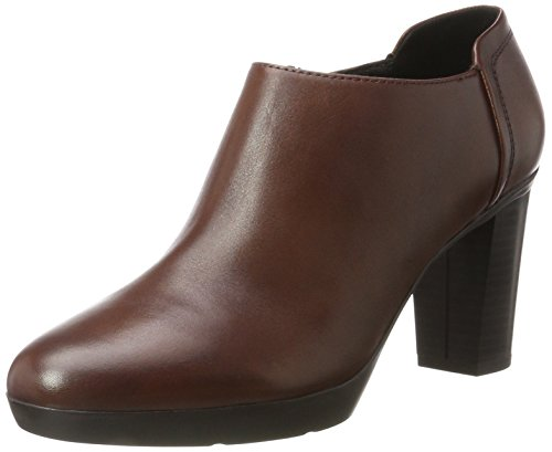 C Femme Brown Inspiration Escarpins Marron Geox Plateau 7SZPwFBq