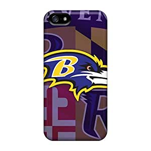 Dana Lindsey Mendez Design High Quality Baltimore Ravens Cover Case With Excellent Style For Iphone 5/5s