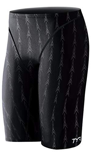 - TYR Men's Fusion 2 Jammer Swim Suit (Black, 28 -Inch)